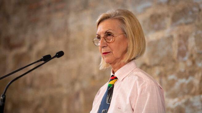 La fundadora de UPyD y portavoz de la plataforma 'Unión 78', Rosa Díez.
