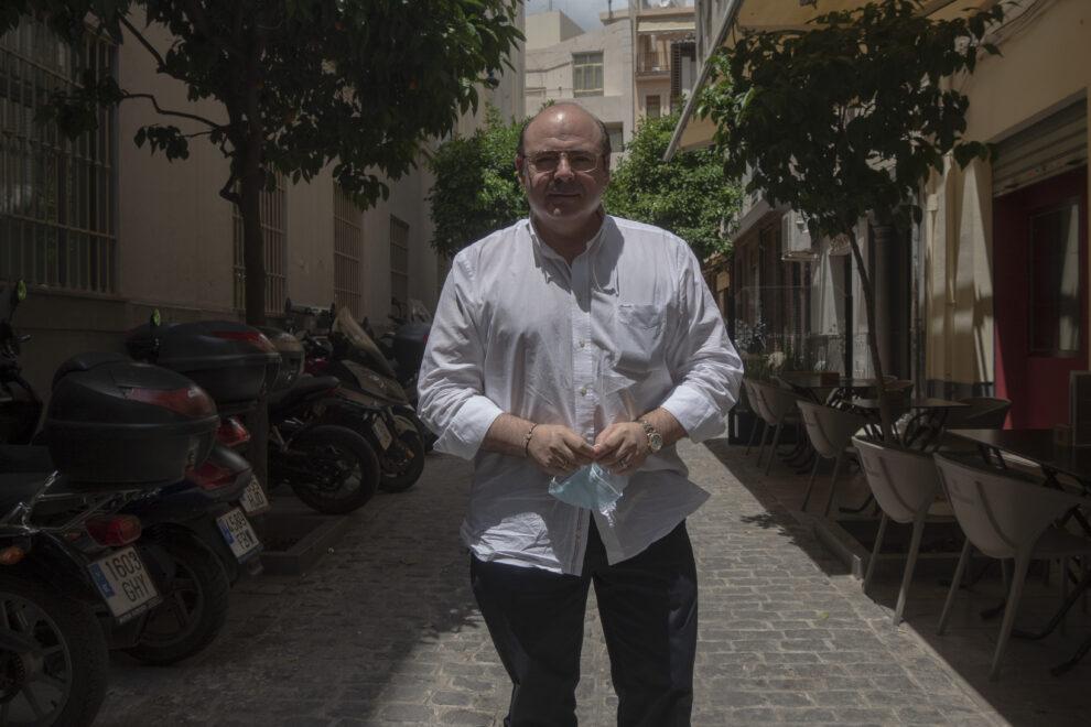 Sebastián Pérez, ex candidato del PP a la alcaldía de Granada