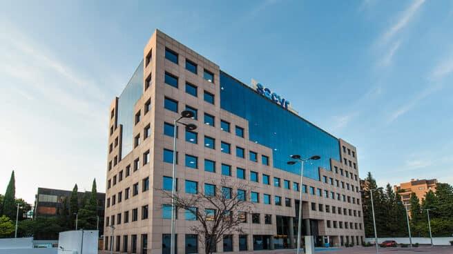 Imagen de la sede de Sacyr.