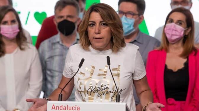 Susana Díaz renuncia a su acta como parlamentaria andaluza, tras reunirse con Juan Espadas