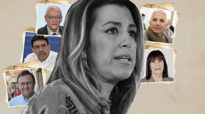 """Los """"compañeros"""" que traicionaron a Susana Díaz"""