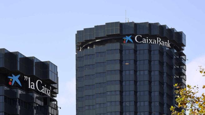 Torres CaixaBank en Barcelona.