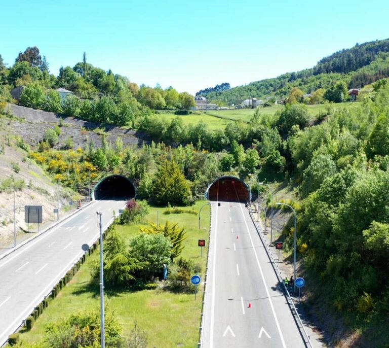 El primer túnel inteligente que se conecta con los vehículos