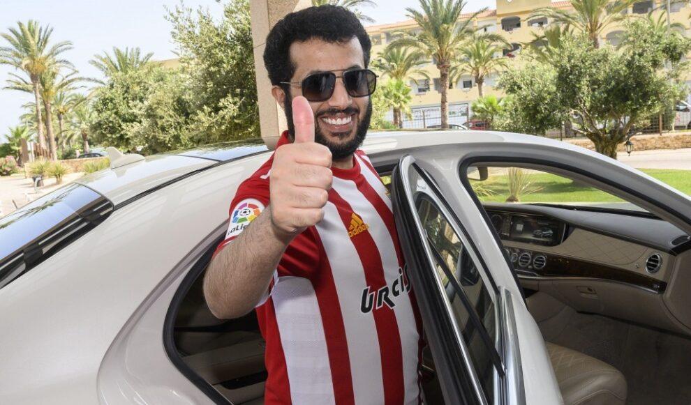 Turki al Sheij, dueño saudí de la Unión Deportiva Almería