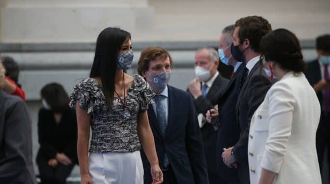 "El PP se acerca a Begoña Villacís: su perfil ""gusta"" en Génova"