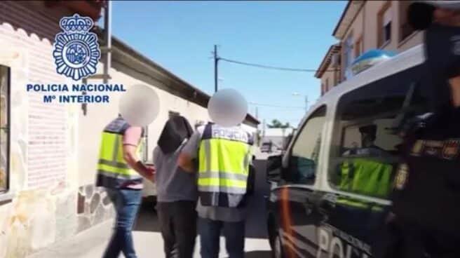 Arresto del yihadista capturado en el pueblo toledano de Santa Olalla.