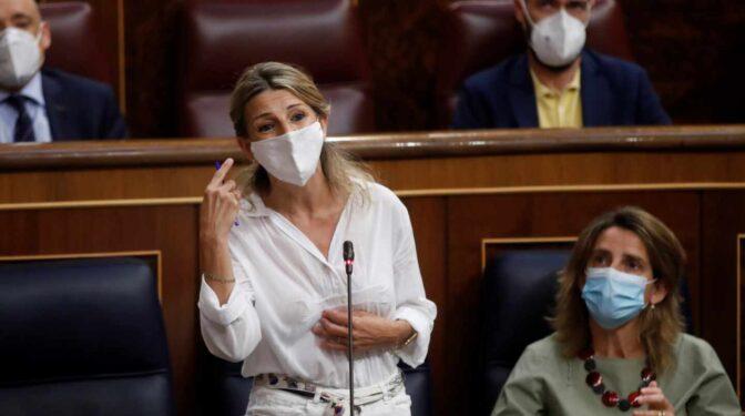 Yolanda Díaz centraliza la comunicación con Sánchez sin injerencias de Podemos