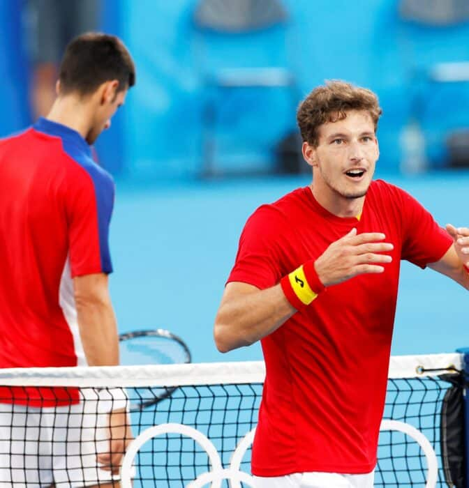 Pablo Carreño desquicia a Djokovic y conquista la medalla de bronce en tenis
