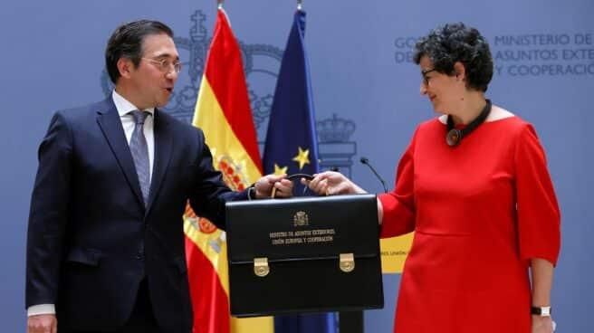 José Manuel Albares toma el relevo de Arancha González Laya en el Ministerio de Exteriores