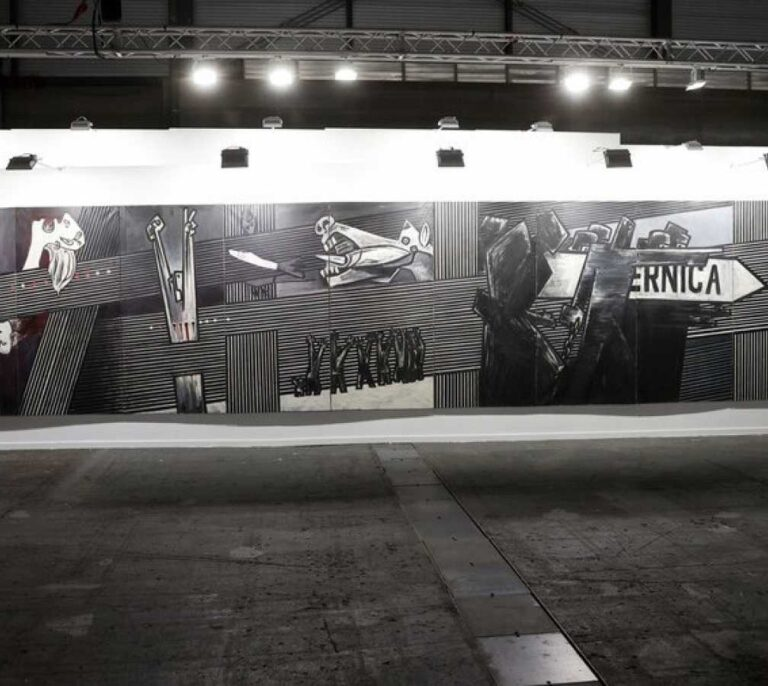 """El """"Guernica"""" de Ibarrola ya está en el Museo Bellas Artes de Bilbao"""