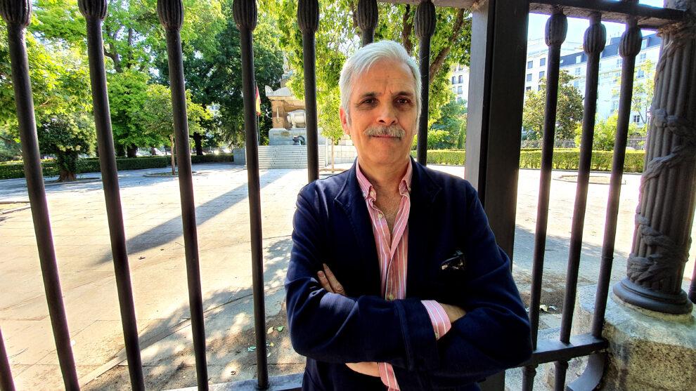 el autor Alfonso Basallo en un retrato