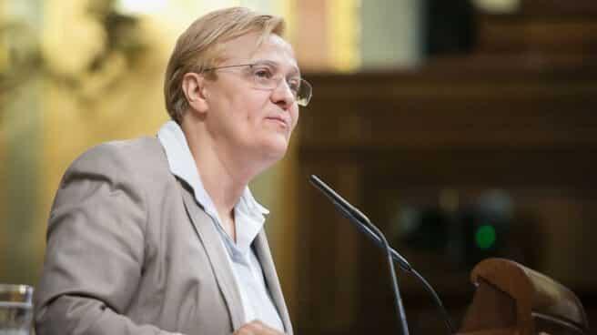 Ángeles Álvarez en una intervención en el Congreso de los Diputados