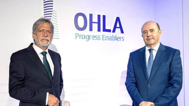 D. Luis Amodio y D. José Antonio Fernández Gallar, presidente y CEO de OHLA.