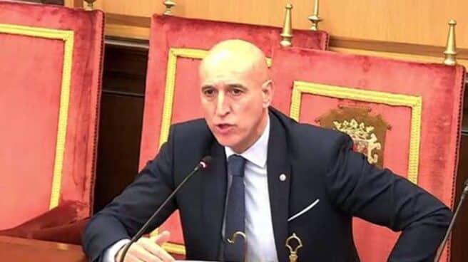 José Antonio Díez, alcalde socialista de León.