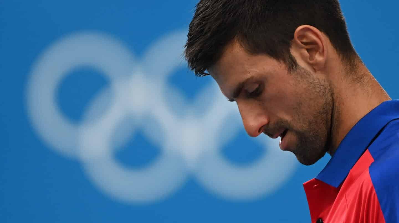 "La herida olímpica de Djokovic no sutura: adiós al ""golden slam"""