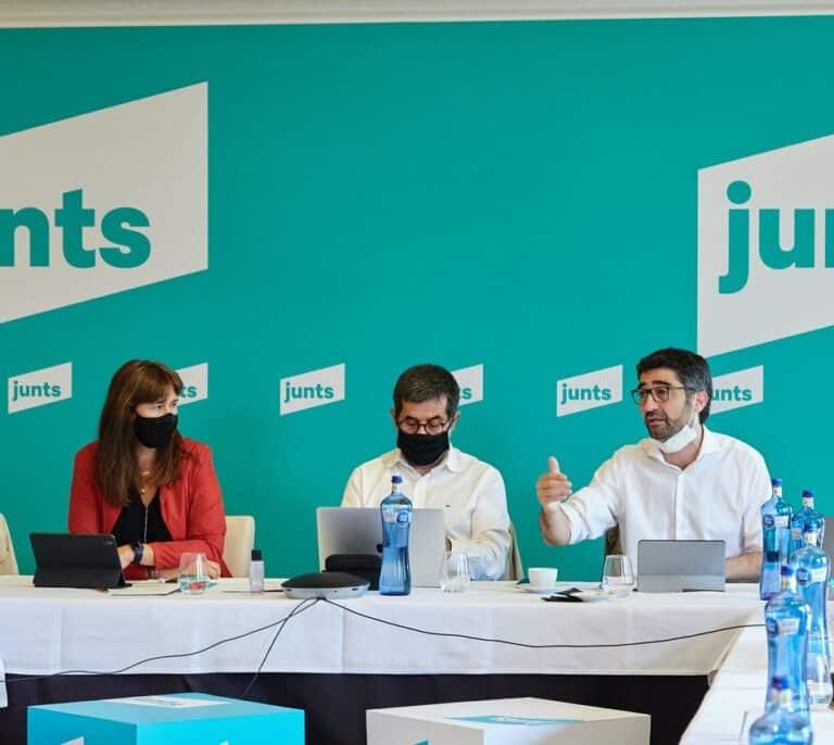 """Junts presiona a ERC para aprovechar la """"debilidad"""" de Sánchez en los presupuestos"""