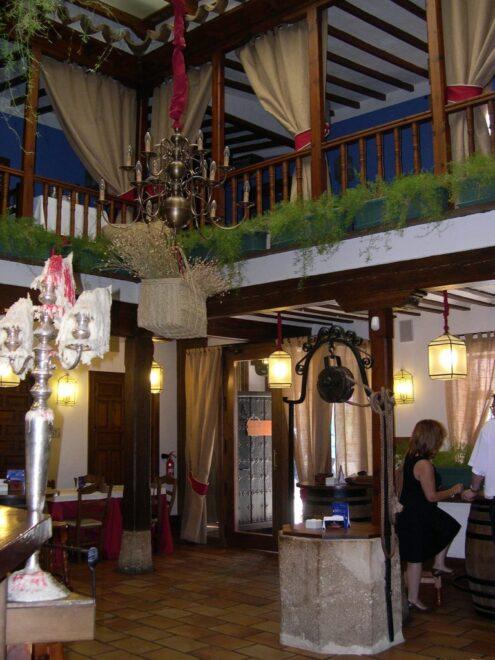 La Venta de El Comendador, restaurante que se encuentra en el centro de Valdepeñas (Ciudad Real)