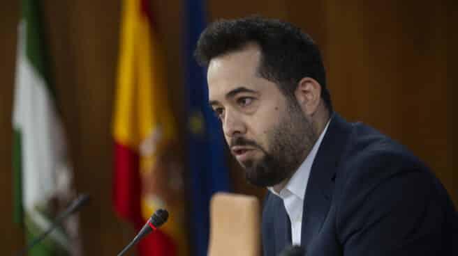 El diputado de Ciudadanos en el Parlamento andaluz, Fran Carrillo