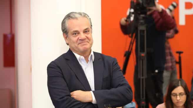 Marcos de Quinto, ex diputado de Ciudadanos en una presentación en la sede del partido