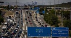 Varios accidentes y retenciones  marcan la segunda 'Operación salida' del verano