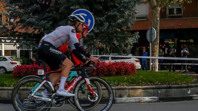 Vuelta Ciclista a España en Pozuelo de Alarcón (Madrid).