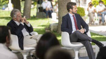 """El ex ministro Arias Salgado bromea llamando """"hijo de puta"""" a Rutte"""