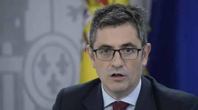 """Los jueces, tras las palabras de Bolaños sobre el CGPJ: """"No nos va a dar lecciones de democracia"""""""
