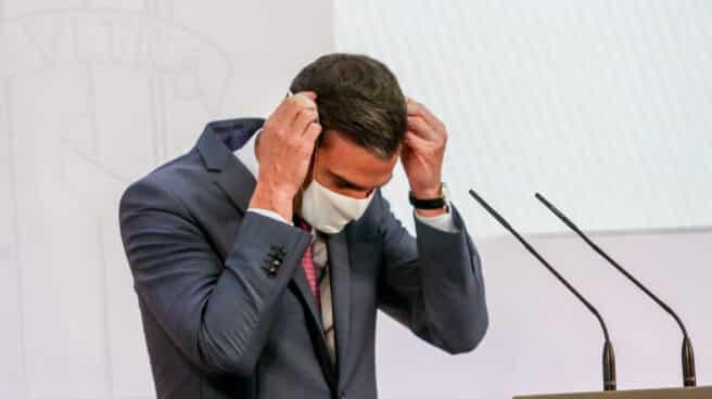 Pedro Sánchez, en el balance del curso político.