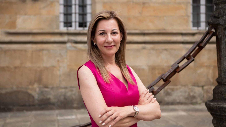 Eva García Sáenz de Urturi en Santiago