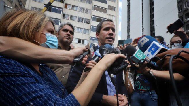 Juan Guaidó, presidente encargado de Venezuela, a salvo tras un intento de arresto