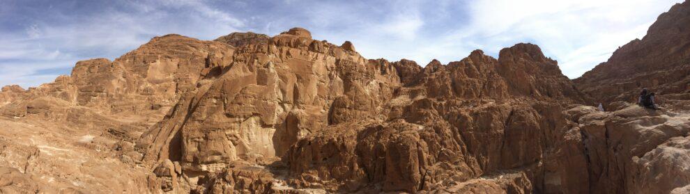 Paisaje del sur del Sinaí