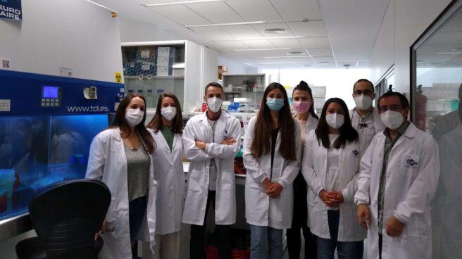 Grupo de investigadores que está desarrollando el test Covid basado en CRISPR.