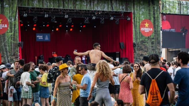 Inauguración del festival de música Sónar en su edición del 2019
