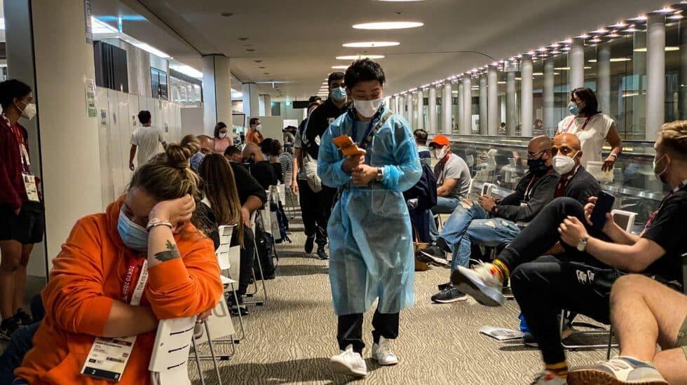 Más de 70 casos de coronavirus en Tokio 2020 a tres días de la ceremonia
