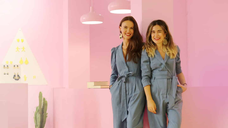 Leire Urzaiz y Estefania de Oliveira diseñadoras de Papiroga