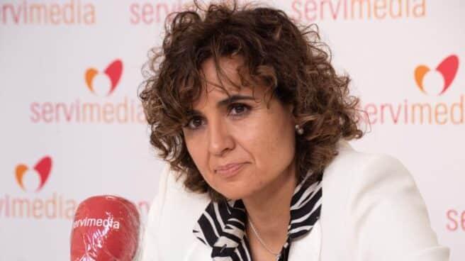 La portavoz del Partido Popular en el Parlamento Europeo, Dolors Montserrat