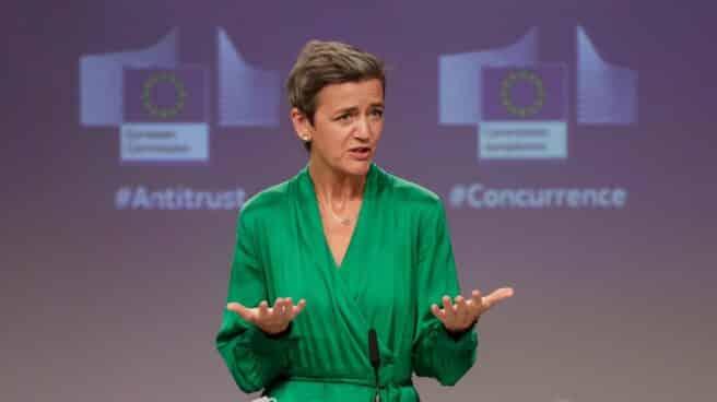 La vicepresidenta comunitaria y responsable de Competencia, Margrethe Vestager.
