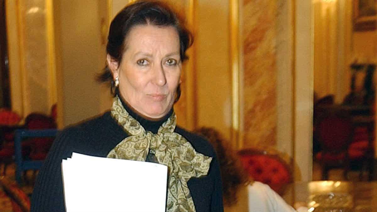 Margarita Mariscal de Gante, ex ministra y hoy consejera del Tribunal de Cuentas.