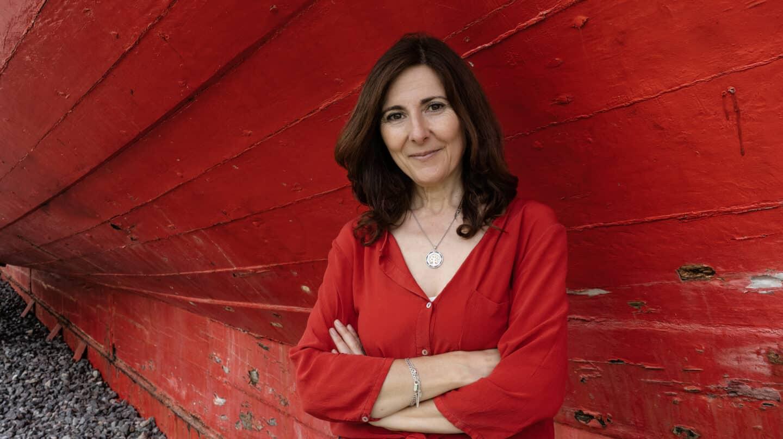 La escritora Mayte Uceda