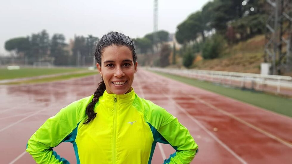 La triatleta Miriam Casillas en una imagen de su Instagram