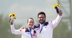 Primer oro para España en Tokio: Alberto Fernández y Fátima Gálvez en tiro