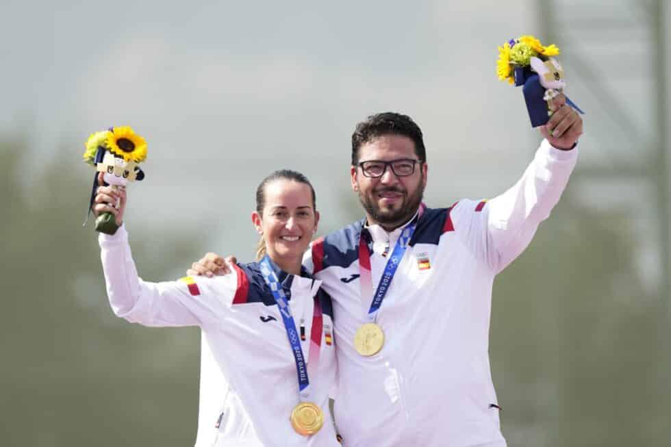 Fátima Gálvez y Alberto Fernández, oro en tiro olímpico en los Juegos de Tokio 2020