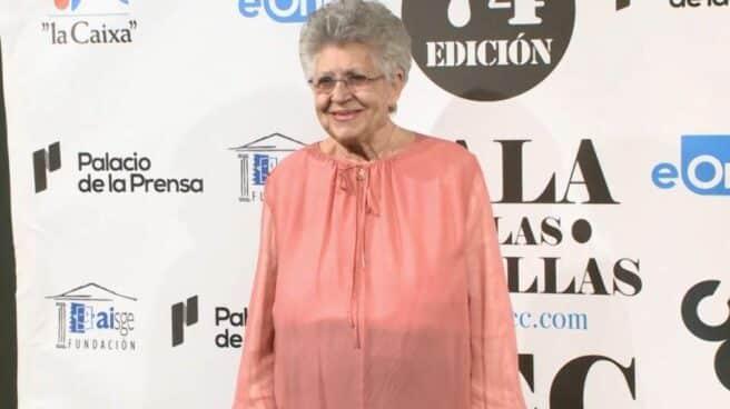 La actriz Pilar Bardem durante una presentación de unos premios de cine español