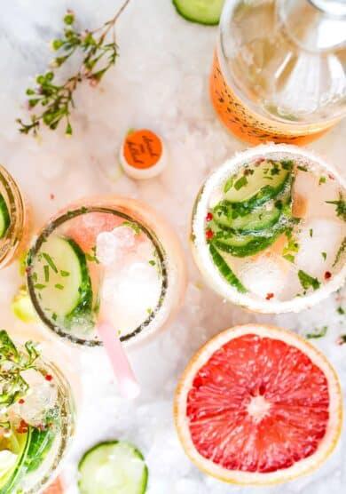 Las siete bebidas caseras más refrescantes que no pueden faltar este verano