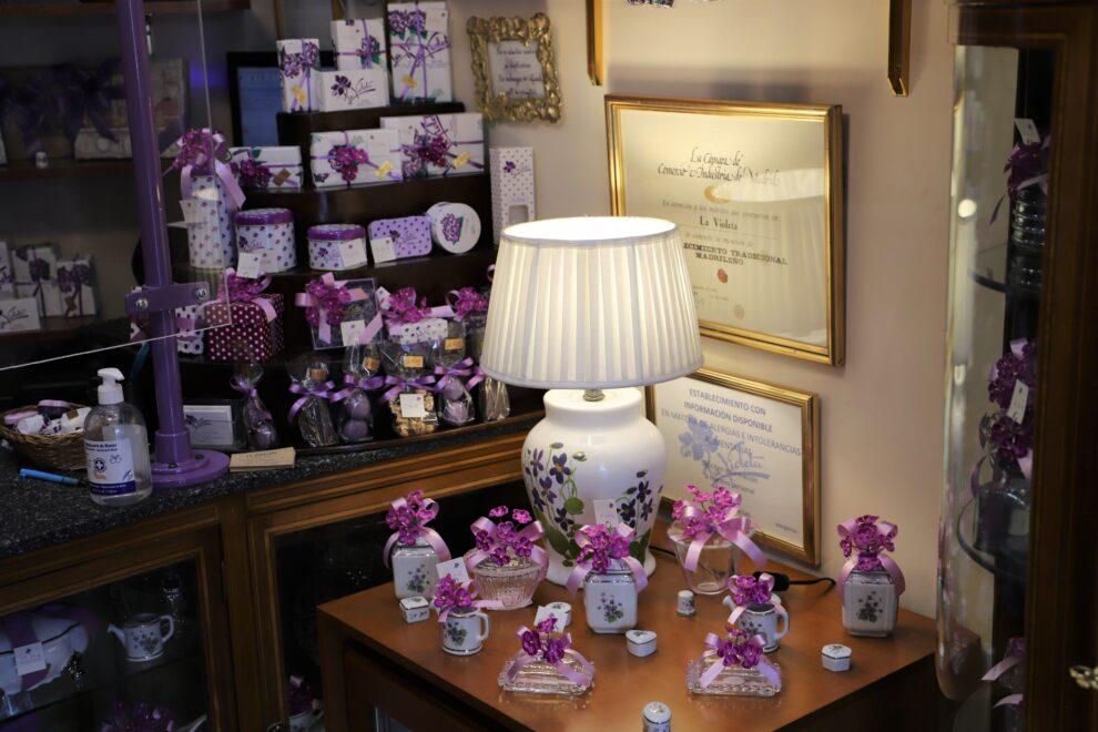 Imagen de la tienda La Violeta en la actualidad.