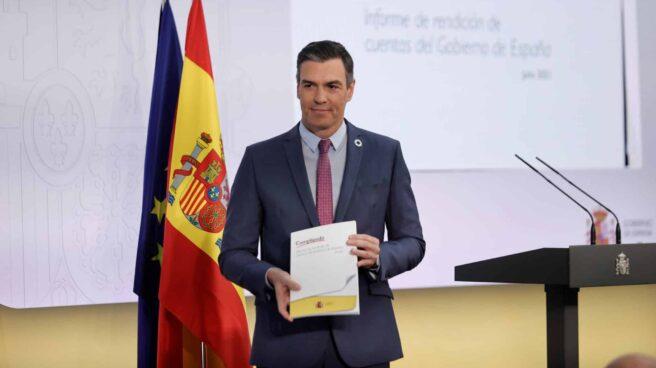 Pedro Sánchez hace balance del curso político.