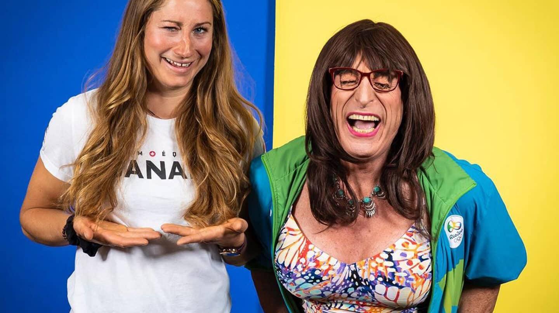 Haley y Kimberley Daniels, antes de los Juegos Olímpicos de Tokio 2020