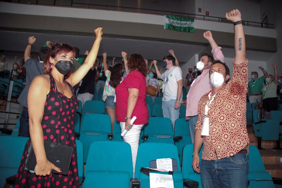 Teresa Rodríguez interviene en la apertura de la Asamblea Constituyente de Adelante Andalucía