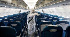 """Las líneas aéreas aseguran que el riesgo de contagio por coronavirus en aviones """"es mínimo"""""""