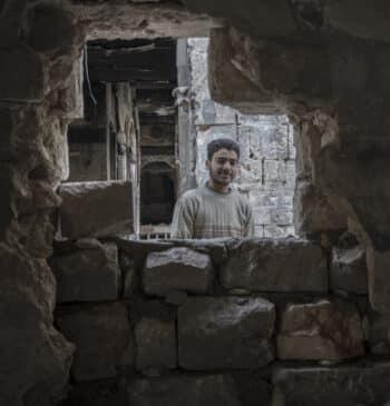 Cuando solo quedan las postales: en las ruinas de Alepo